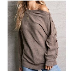 🎉 ONLY 2️⃣ LEFT 🎉 Off The Shoulder Sweater